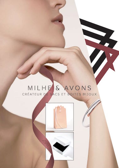 Milhe et Avons - Plaquette sacs et boites bijoux - Par Madec and co