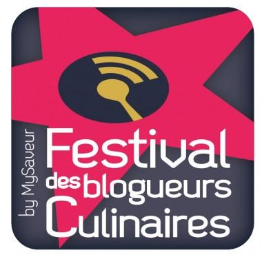 logo festival des blogueurs culinaires par madec and co
