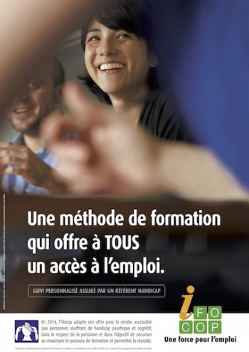 IFOCOP - Campagne accueil handicap - Par Madec and co