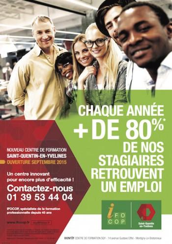 IFOCOP - Campagne ouverture Saint Quentin en Yvelines - Par Madec and co