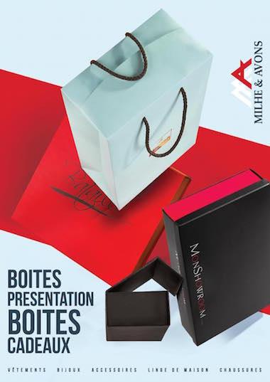 Milhe et Avons - Plaquette boites - Par Madec and co