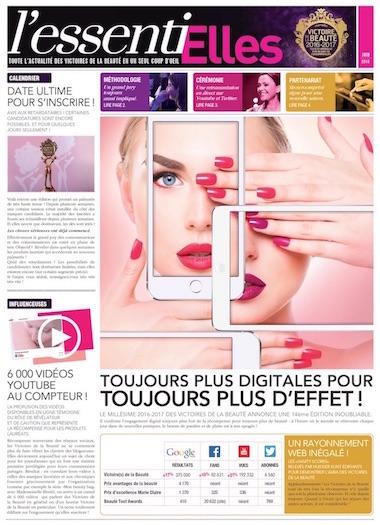 Victoire de la beauté 2016 EssentiElles page1 par madecandco